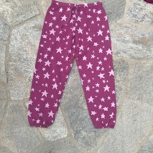 T2 Live Girls size 10  star print sweatpants